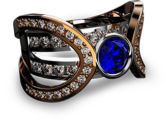 rhinogold 3d sample CAM CAD jewel ring software